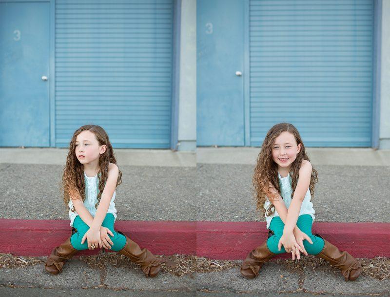 Sonoma County Child Model Photographer